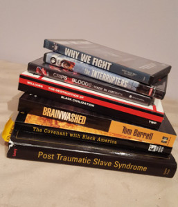 Books & media resources for discussion on violence