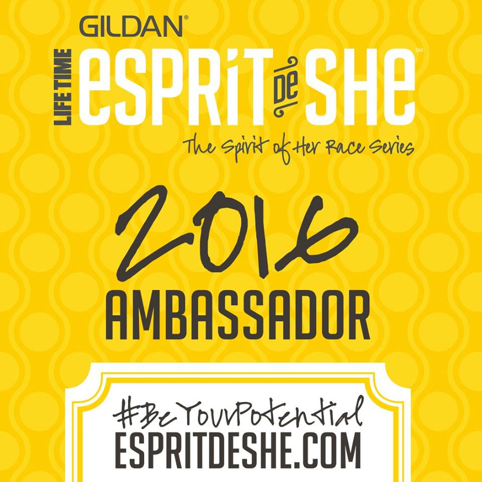 Register for Esprit De She Series events with this discount code:  GEDS16AMB022